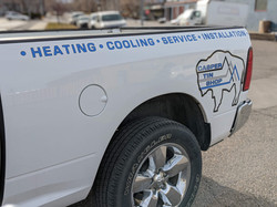 truck decals, casper wyoming HVAC