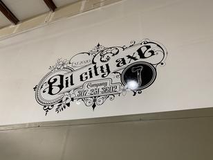 indoor vinyl-casper, axe throwing