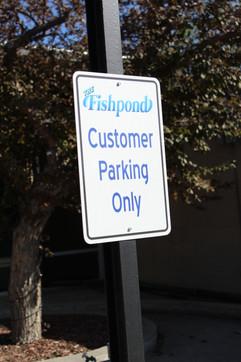 parking sign, casper wyoming