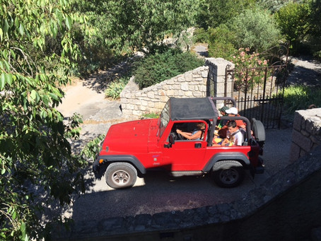 L'écriture et la Jeep