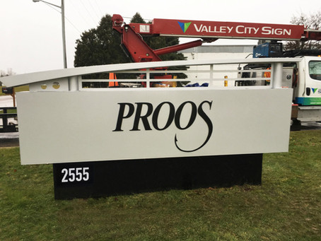 Extending your brand to your signage is one of the things we do best!