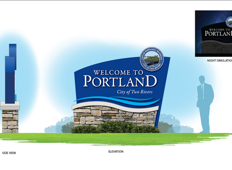 Valley City Sign has extensive experience with city wayfinding and gateway signage.