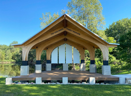 The Van Andel Family Pavilion is now open in Ada, Michigan!