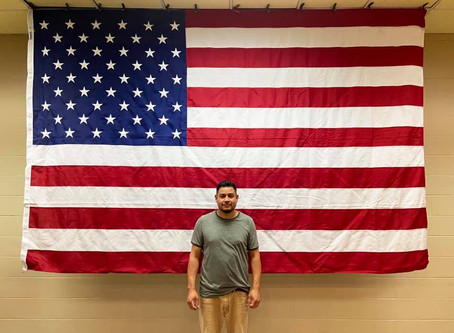 Congratulations to our employee, Sergio, on becoming a U.S. citizen!