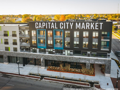 Fresh. Affordable. Local. Capital City Market and Block600 Lofts are now open in Lansing!