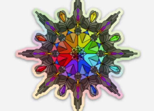 FORTUNA (Holographic Sticker)