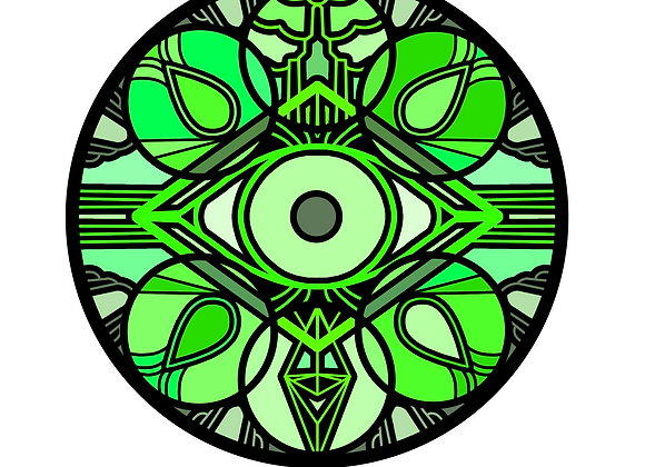 FORTUNA (Button) Visual pin of Mutus (green)