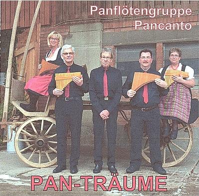 CD Pan-Träume vorne