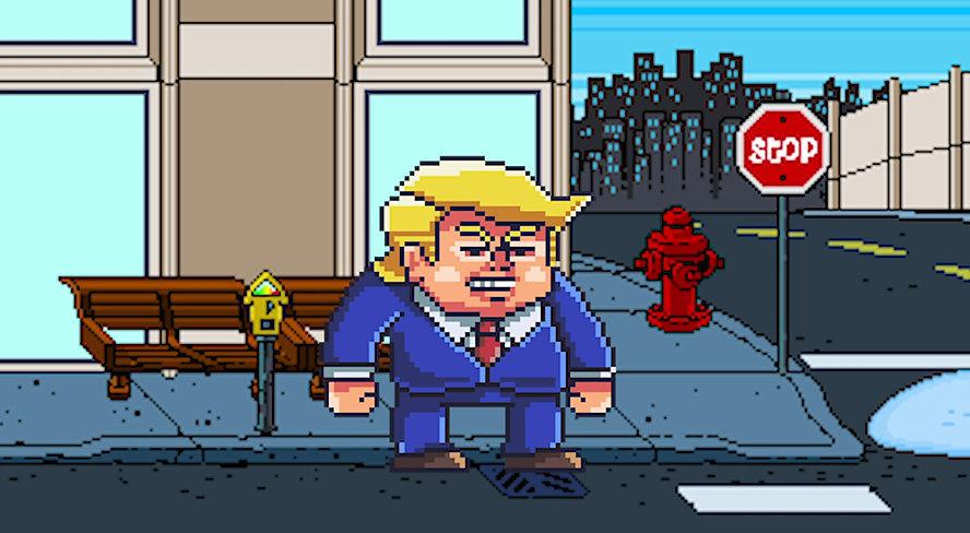 Trump Bad Guy Libtard Game Music Video