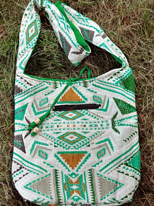 Bags - Large Embroidered Cloth Bag