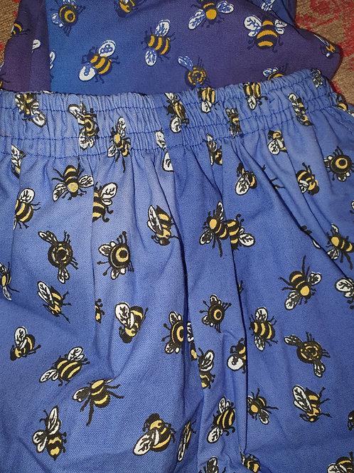 Kids Baggies / Shorts - Bees