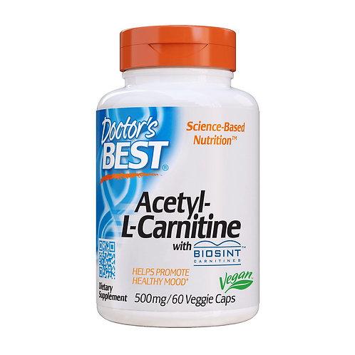 Acetyl-L-Carnitine with Biosint (60 veg caps)