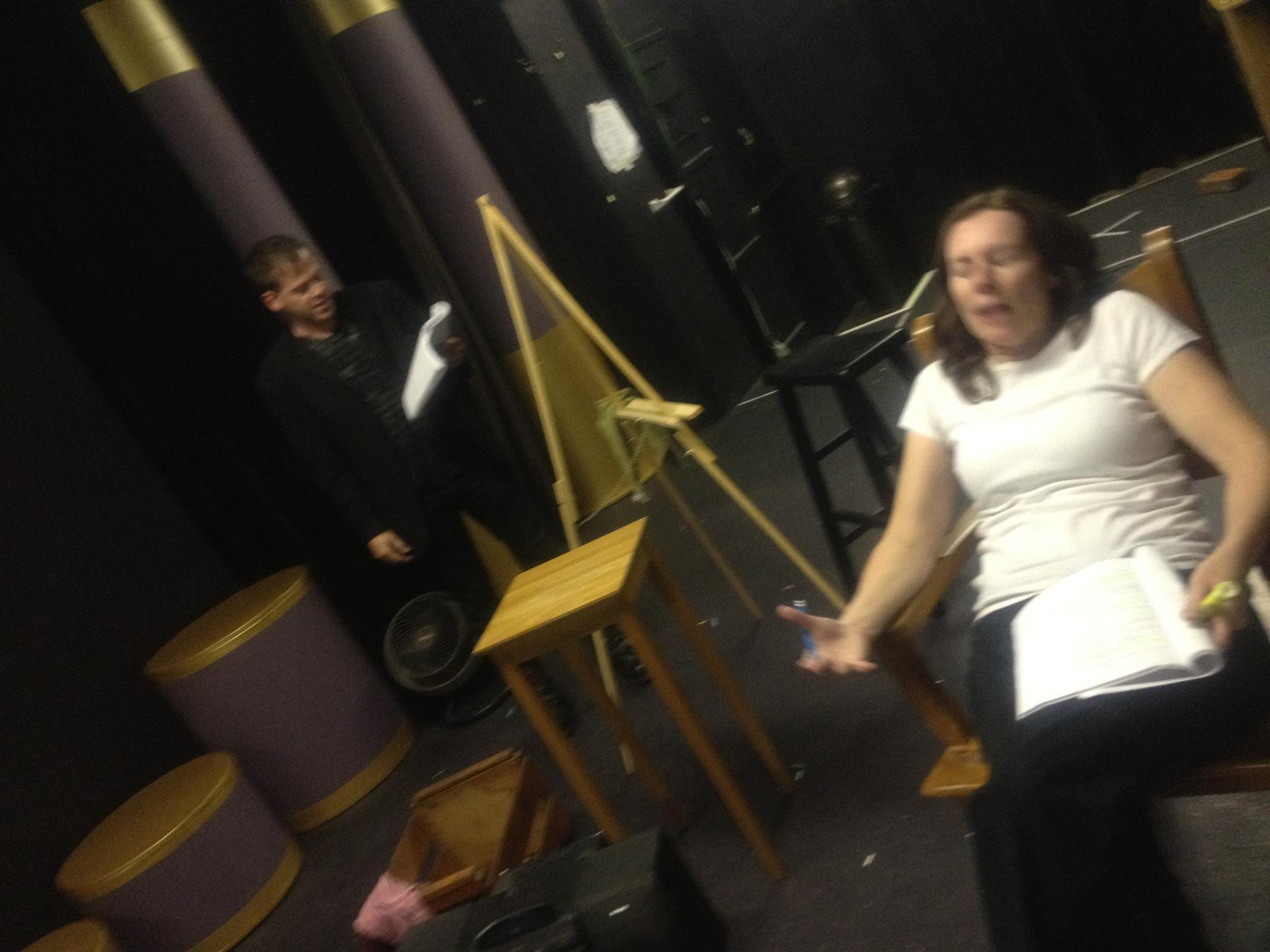 UNT PERV 3 rehearsal