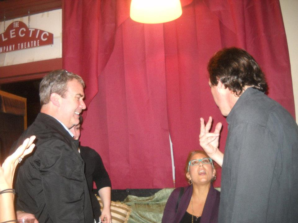 """""""Lagniappe"""" playwright holding court"""
