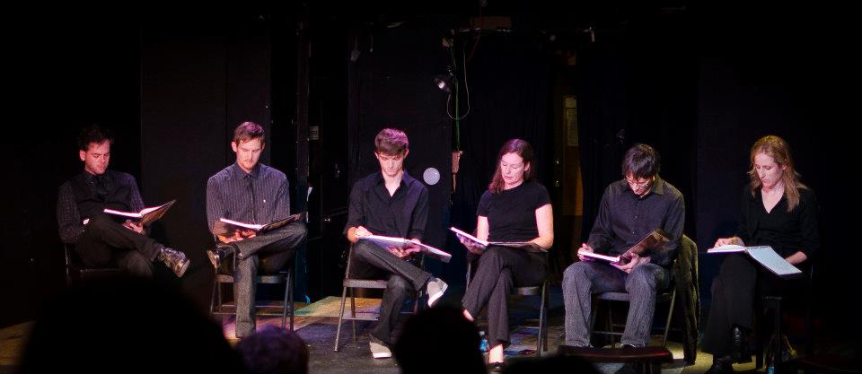 """Lagniappe"" reading @ ECT, Oct 2011"