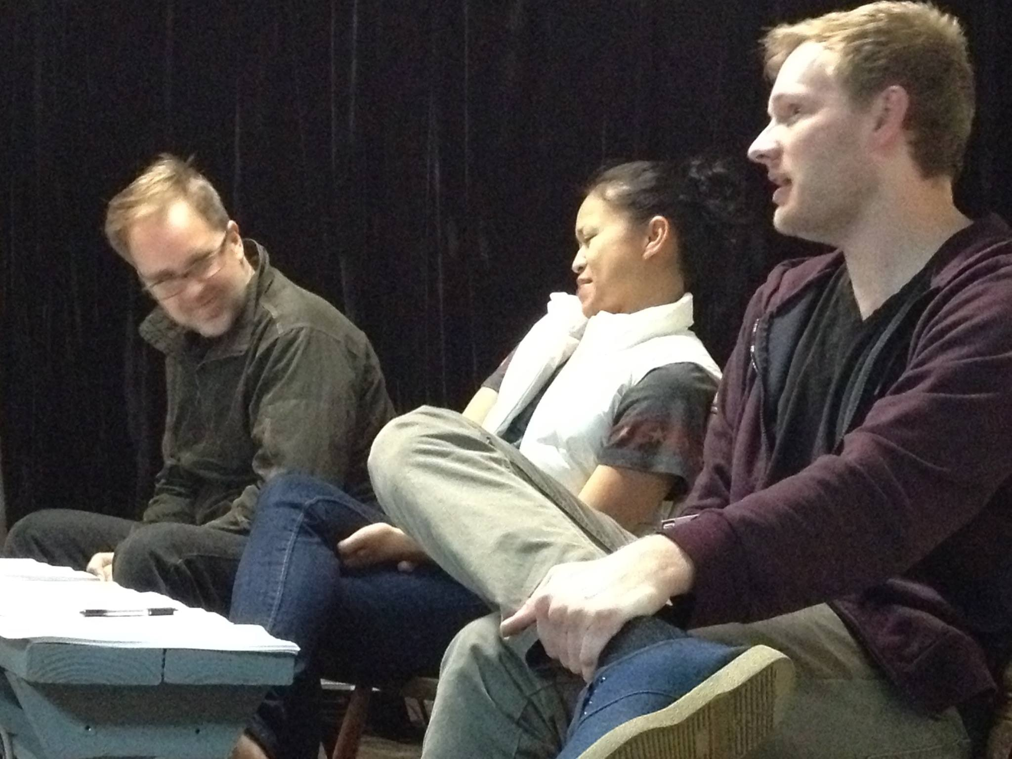 Pearson rehearsal 2014 trio