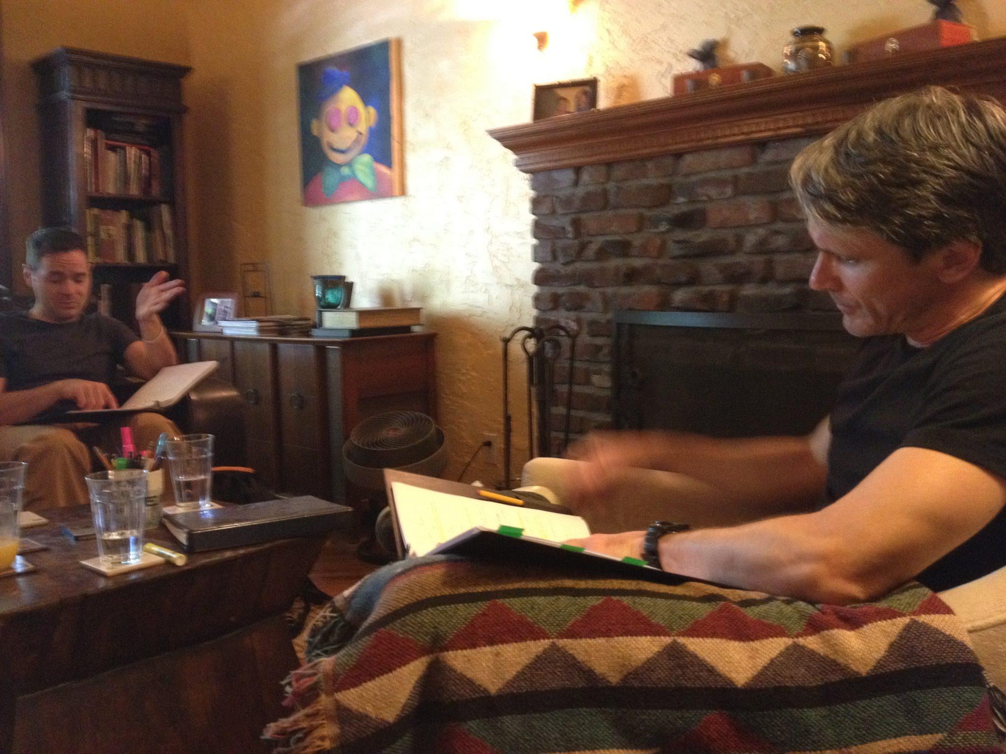 living room read - June 2014