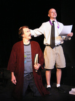 """""""Beep,"""" Eclectic Co. Theatre, 2012"""