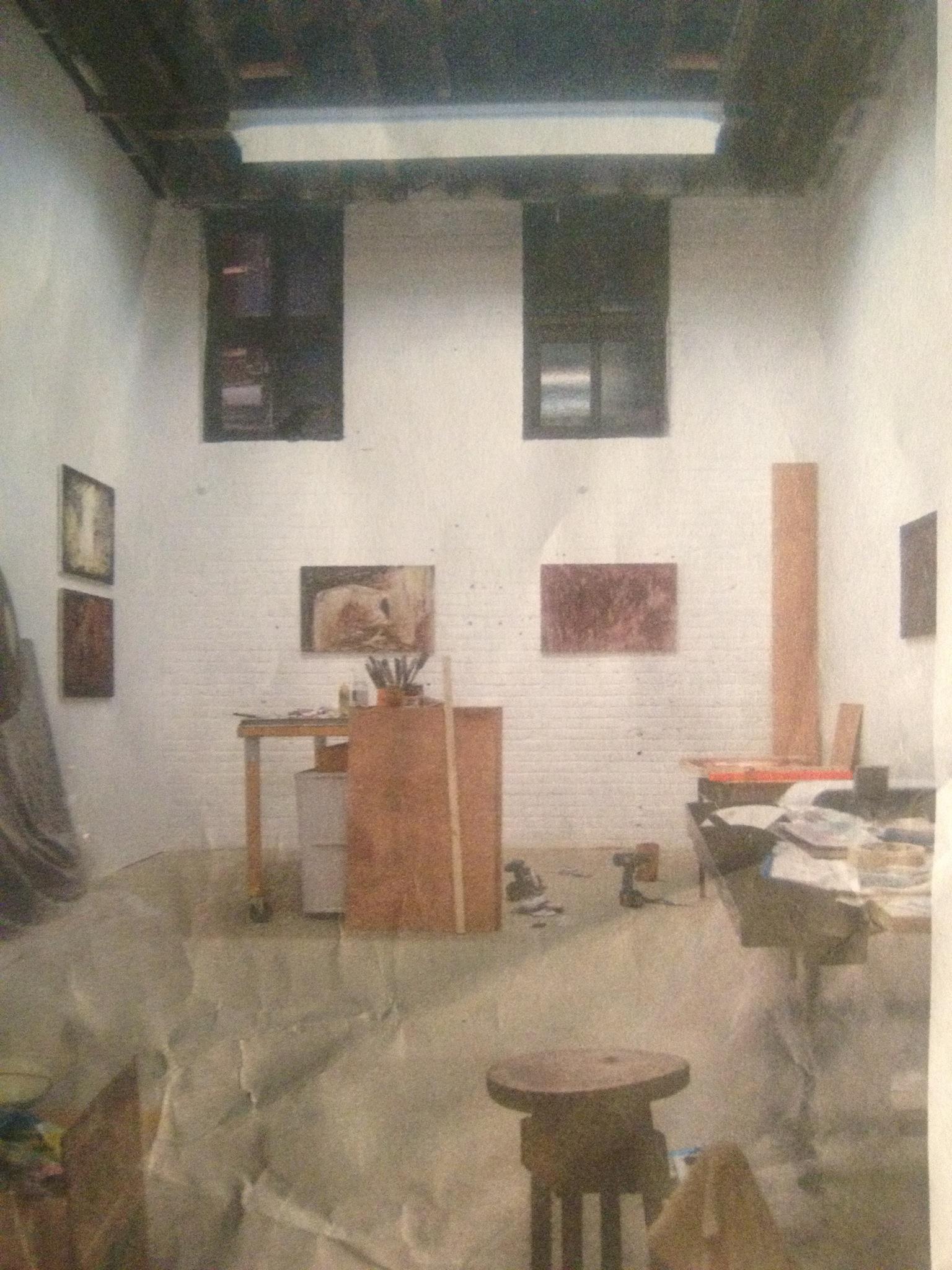 inspiration: Robbie's studio