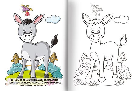 Super recreo de colores - Animales de la granja