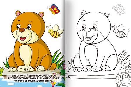Super recreo de colores - Animales de la selva