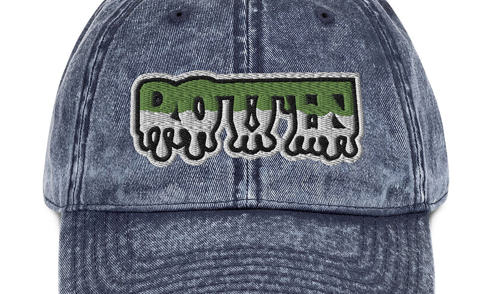 Rotten x Drip Vintage Cotton Cap