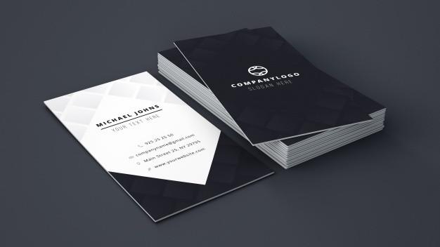 Creación e impresión de tarjetas de visita