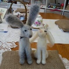 Bride & Groom Hares