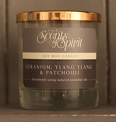 Scents Of Spirit, Essential oil Soy Wax Candle
