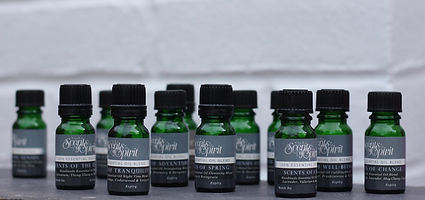 Pure essential oil blends