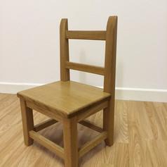 Oak Child's Chair