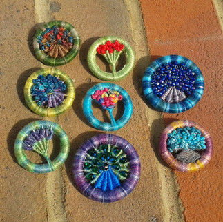 Dorset Button Brooches