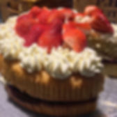 Handmade cake, The Sheepshed Gallery & Tearoom, The Fairground