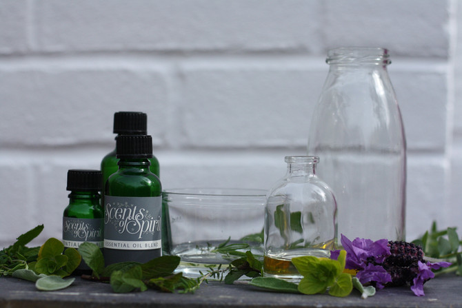 Using essential oils to help with stress and anxiety