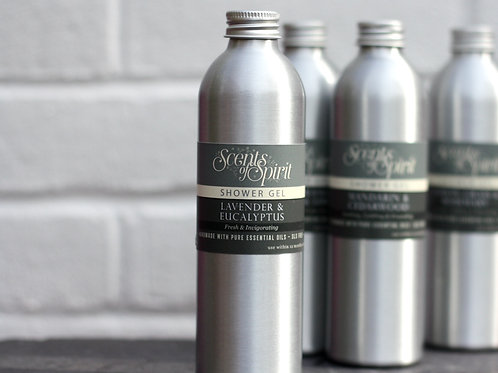 Lavender & eucalyptus shower gel
