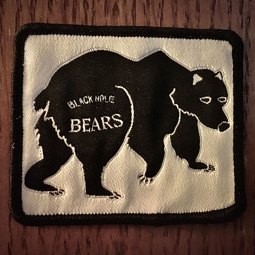 Glow-in-the-Dark Bear Patch