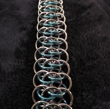 Transexual Blue over Pink Viperscale Bracelet