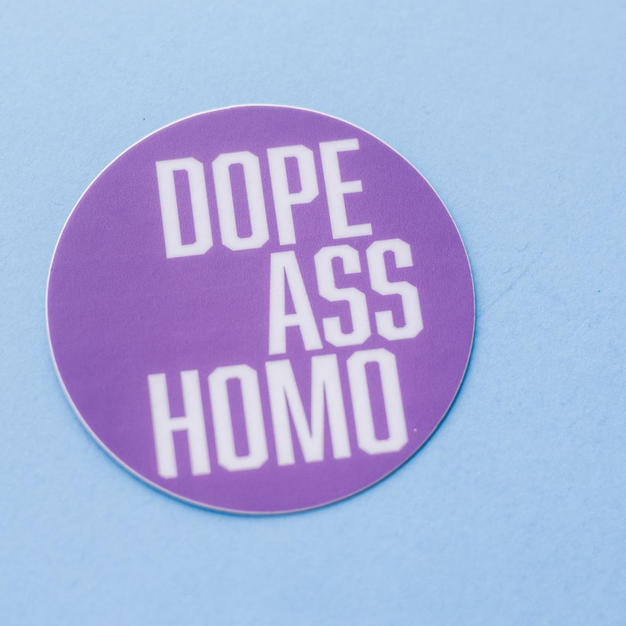 Dope Ass Homo Sticker