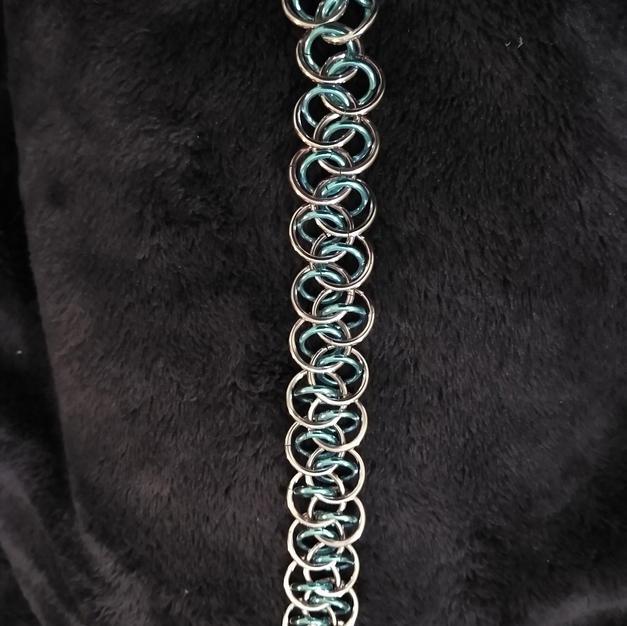 Transexual Pink over Blue Shenanigan Bracelet