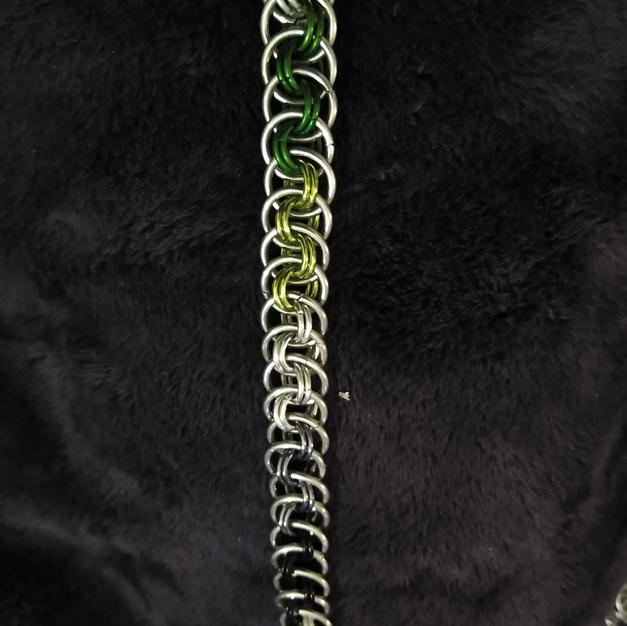Aromantic Viper Basket Bracelet