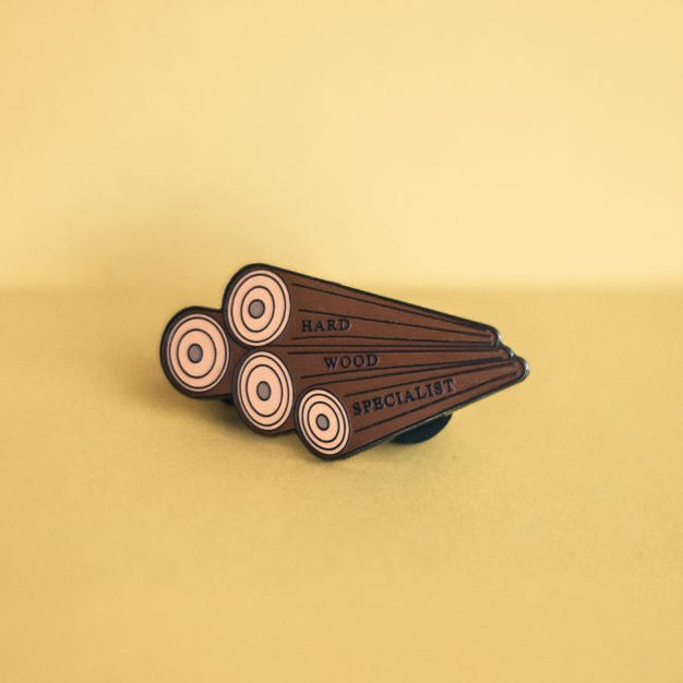 Hardwood Specialist' Pin