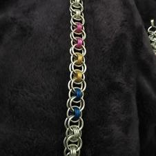 Pansexual Helm Bracelet
