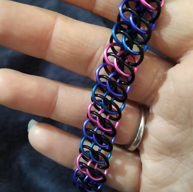 Bisexual GSG Bracelet