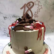 Custom 18 Cake Topper