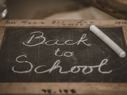 Back to school! Are you ready?!
