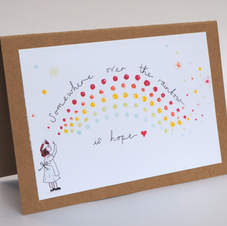 Over the Rainbow of Hope NHS Card