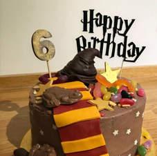 Custom Happy Birthday Cake Topper
