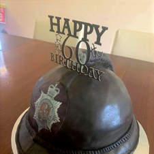 Custom Happy 60th Cake Topper