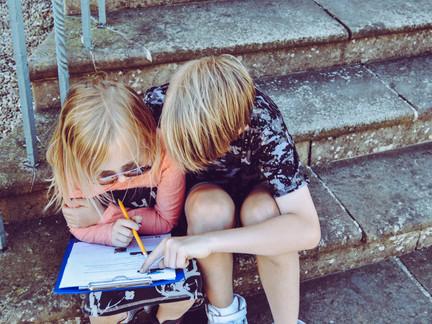 The joys of homework... Part 1...