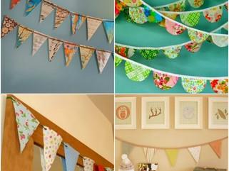 Dicas de decoração - Bandeirinhas